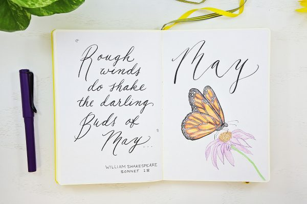hello may bullet journal