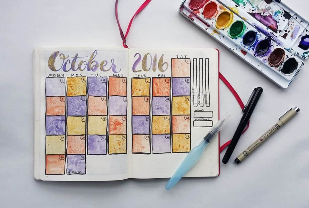 Bullet Journal monthly spreads you need to try now!