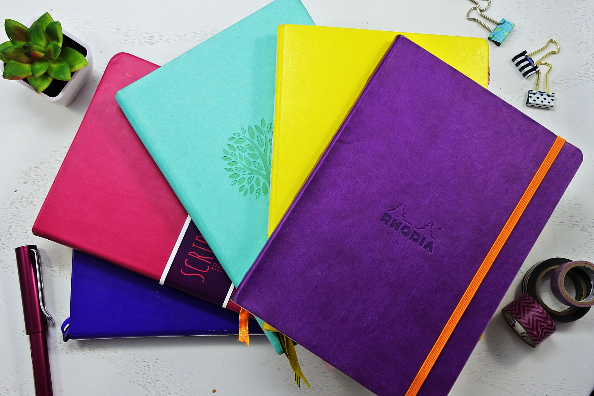 5 notebooks perfect for bullet journaling