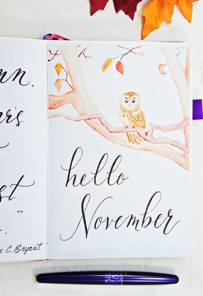 Amazing november cover page!