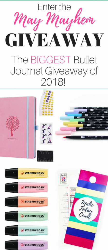 Giveaway 2018