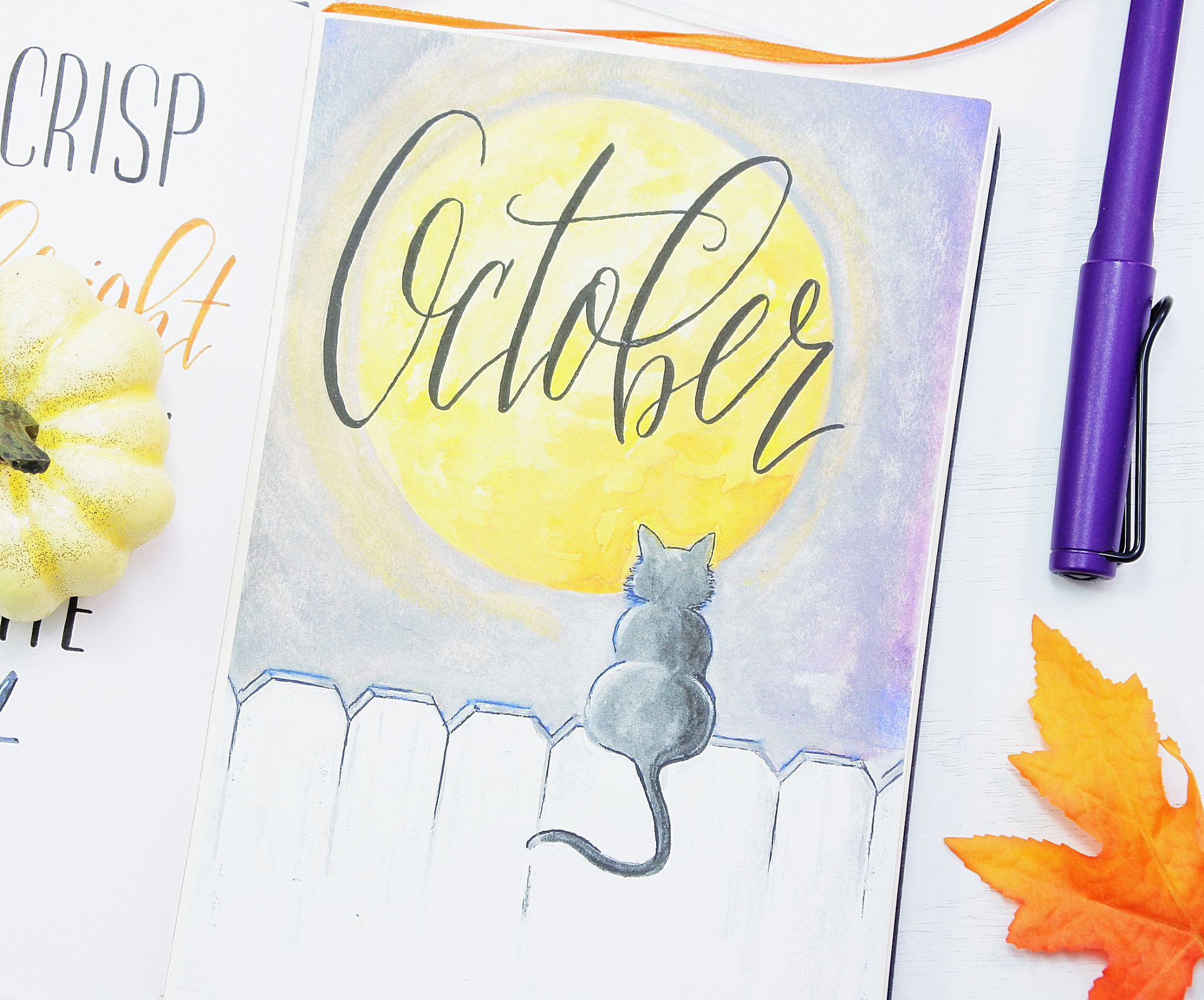 October Bullet Journal Setup With Free Printables Sheena Of The Journal