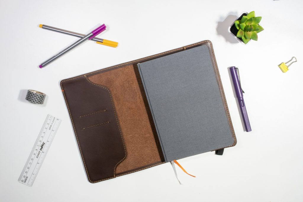 Leather Bullet Journal Cover! Pad and Quill Notebook review.