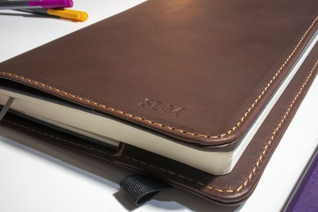 Leather Bullet Journal cover! The pad and Quill dot grid notebook review!