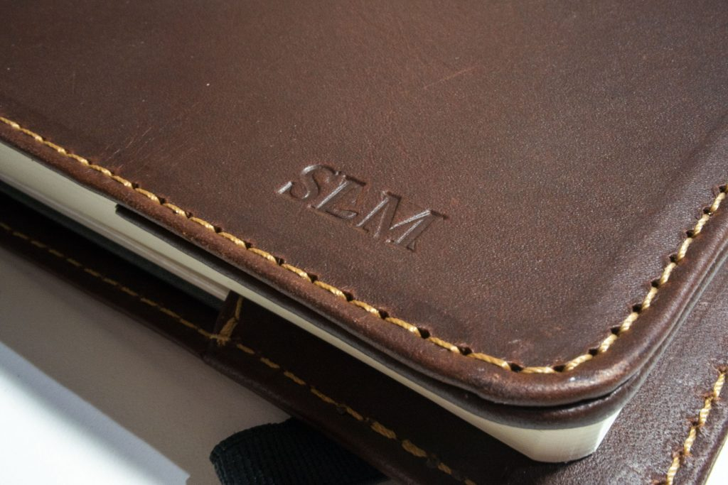 Pad and Quill notebook review - beautiful genuine leather covers for your bullet journal!
