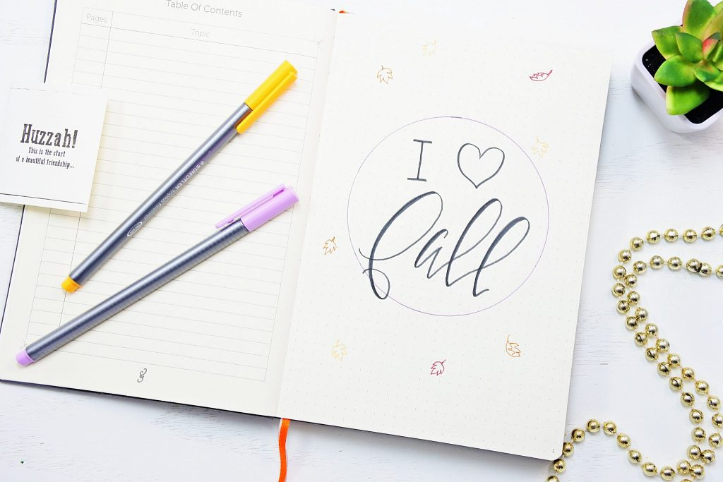 Pad and Quill notebook review- best notebook for bullet journaling?