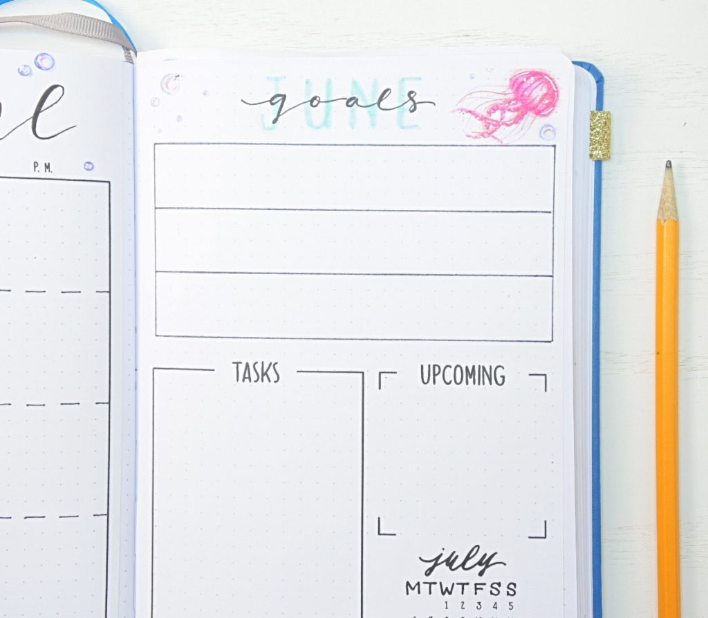 June goals page
