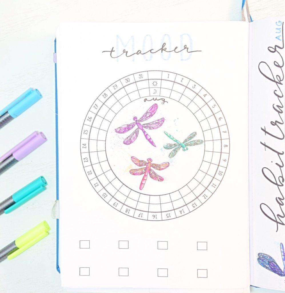 Dragonfly Mood tracker