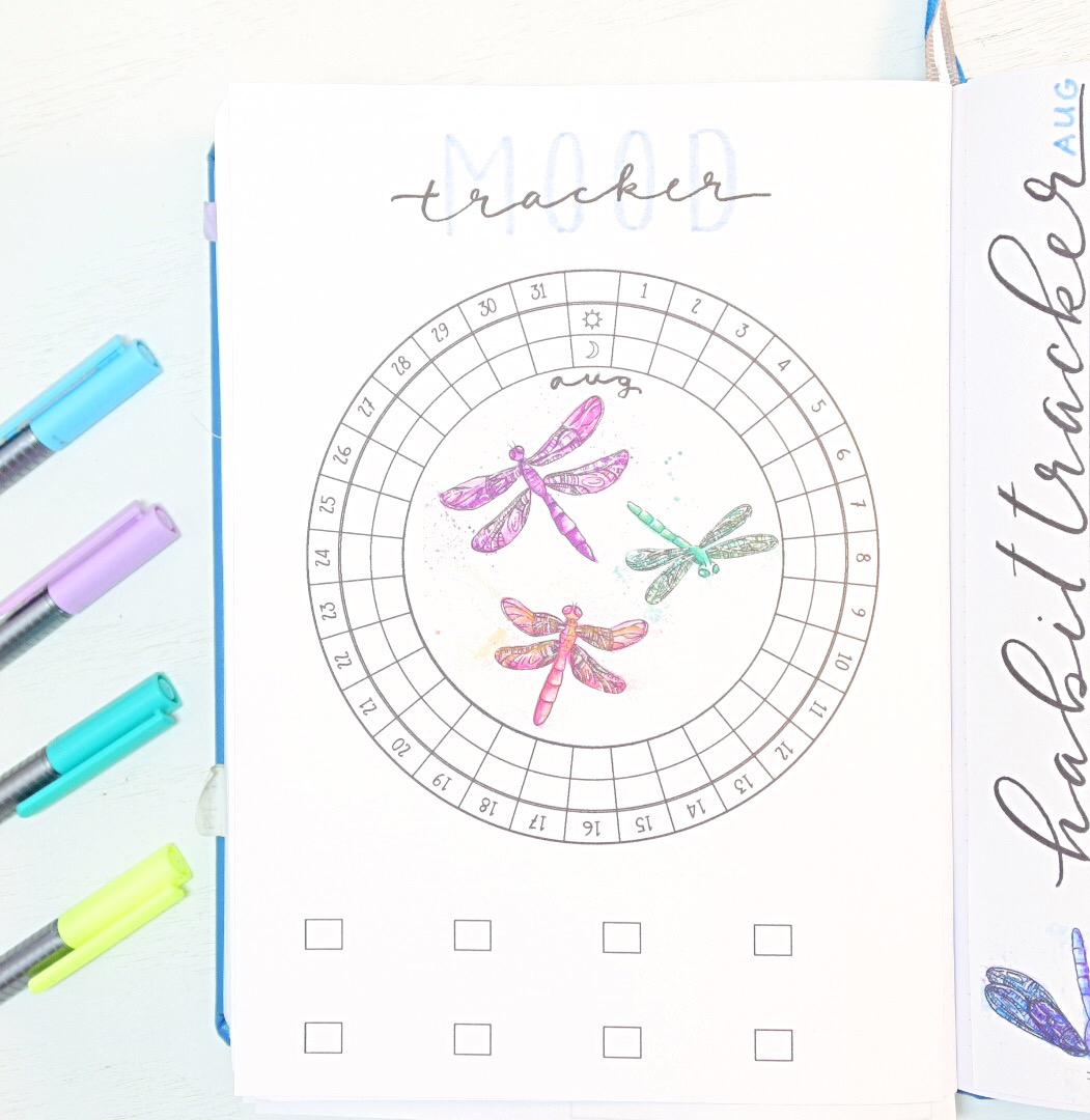 Dragonfly Mood tracker