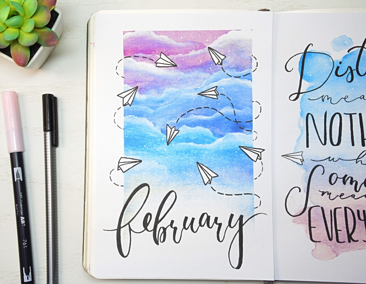 February cover page